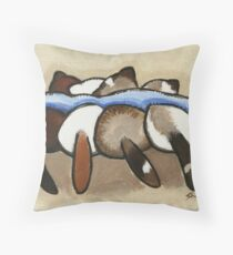 Ferret Tails Throw Pillow