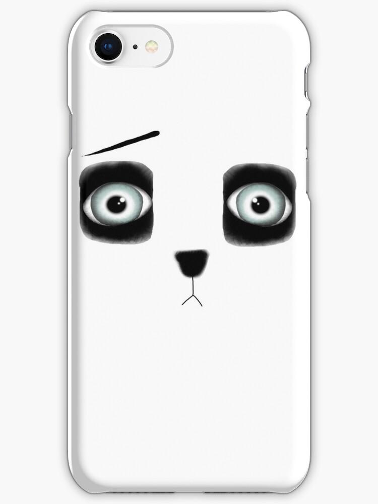 Teddy bear huge eyes by rupydetequila