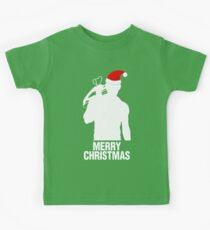 Daryl Dixon Christmas Design (Light) Kids Clothes
