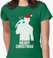 Daryl Dixon Christmas Design (Light) Women's Fitted T-Shirt