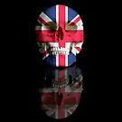 UK Flag Union Jack Skull by Kitty Bitty