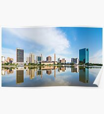 Toledo Ohio City Skyline Poster