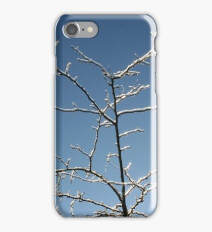 Tree in Ice iPhone Case/Skin