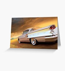 When Cars Could Fly Greeting Card