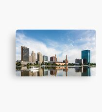 Toledo Ohio City Skyline Canvas Print