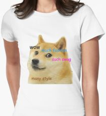 Doge T-Shirt Women's Fitted T-Shirt