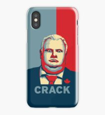 Rob Ford - CRACK iPhone Case