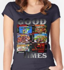 Good Times Women's Fitted Scoop T-Shirt