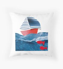 Made of wind Throw Pillow