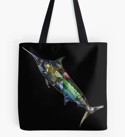 #marlinart Marlin Montage Tote Bag