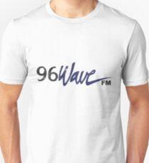 96 Wave Sign - Worn Unisex T-Shirt
