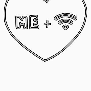 Me + Wifi <3 by Krimmjow