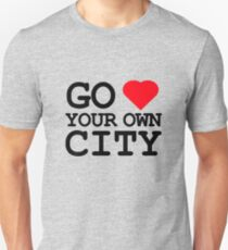 Go heart your own city T-Shirt