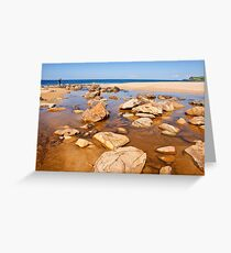 Crossing the Lagoon  Greeting Card