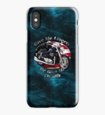 Triumph Thunderbird Give Me Liberty iPhone Case/Skin
