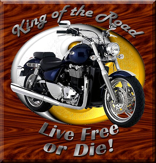 Triumph Thunderbird King Of The Road by hotcarshirts