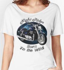 Triumph Thunderbird Night Rider Women's Relaxed Fit T-Shirt