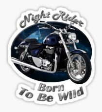 Triumph Thunderbird Night Rider Sticker