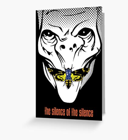 The silence of the Silence - Art Print Greeting Card