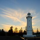 Backlit Lighthouse by Dilshara Hill