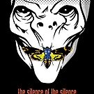 The silence of the Silence - iPhone Case by D4N13L
