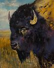 Bison by Michael Creese