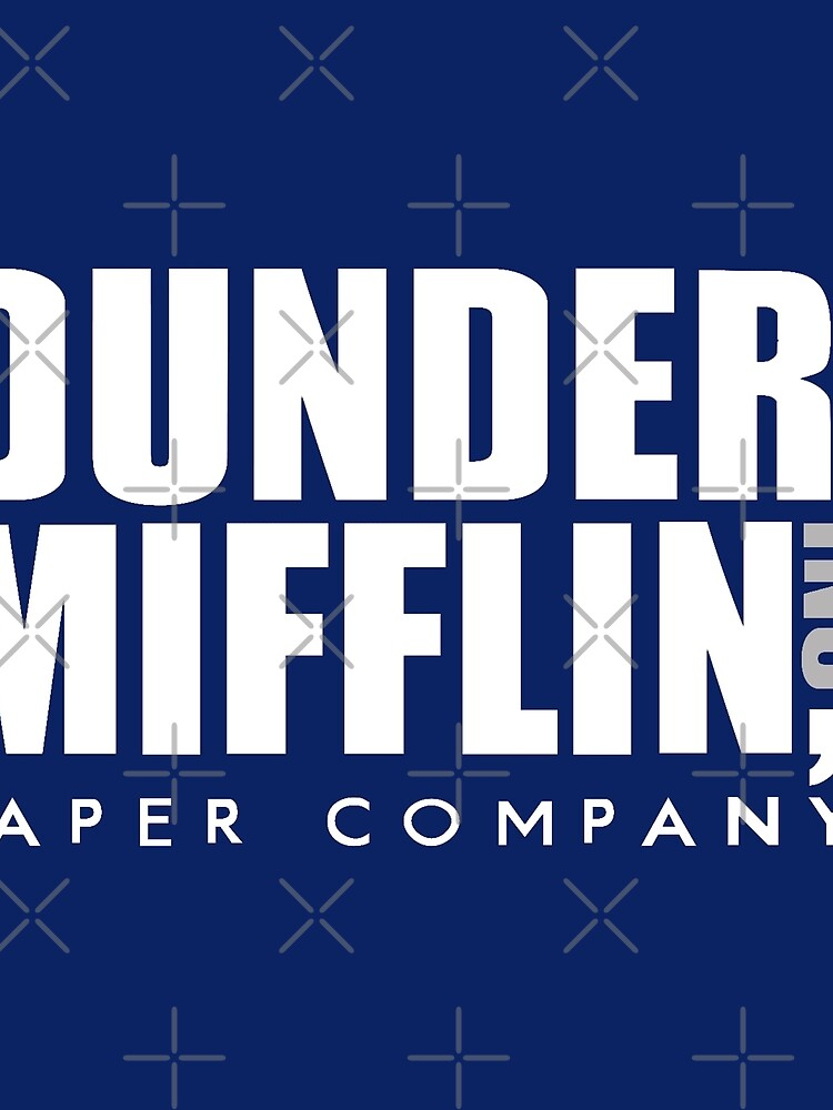 Dunder Mifflin Logo by pickledbeets