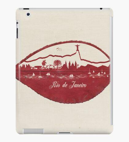 Rio de Janeiro Skyline iPad Case/Skin