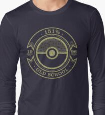 151% Old School Long Sleeve T-Shirt