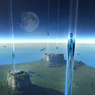 space elevator by Vin  Zzep