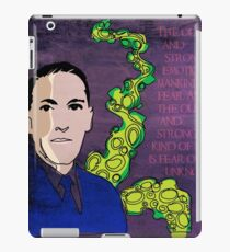 HP LOVECRAFT, AMERICAN GOTHIC WRITER iPad Case/Skin