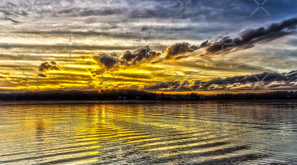Lake Lanier: Passing Storm II by Bernd F. Laeschke