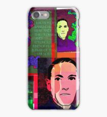 HP LOVECRAFT, AMERICAN GOTHIC WRITER, COLLAGE iPhone Case/Skin