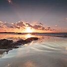 Shiny Sunset by Beverly Cash