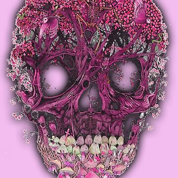 Beautiful Skull by TheFoxFromHell