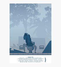 Jurassic Park Film Poster - feat Gennaro Photographic Print