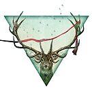 scarlet deer by Vin  Zzep