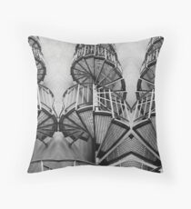 Up-stairs Throw Pillow