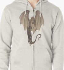 Dark Dragon Zipped Hoodie
