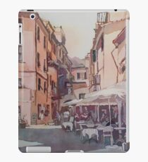 Monterosso Cafe iPad Case/Skin
