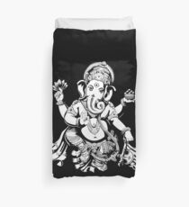 Lord Ganesh for dark colours Duvet Cover