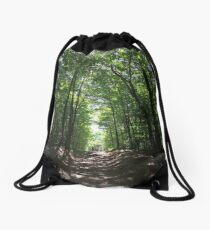 Forest Walk Drawstring Bag