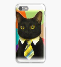 Business Cat iPhone Case/Skin