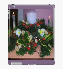 Advent Candles iPad Case/Skin