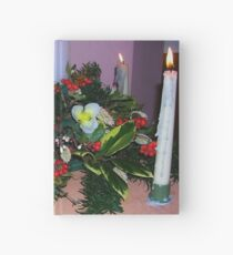 Advent Candles Hardcover Journal