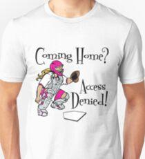 Access Denied, pink T-Shirt