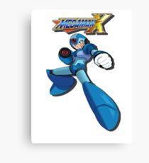 Mega Man X Canvas Print
