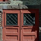 Double Doors by Gail Falcon
