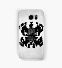 rorschach save us! Samsung Galaxy Case/Skin