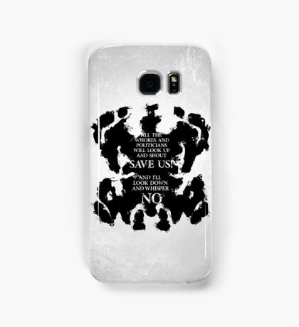 rorschach save us! Samsung Galaxy Case/Skin